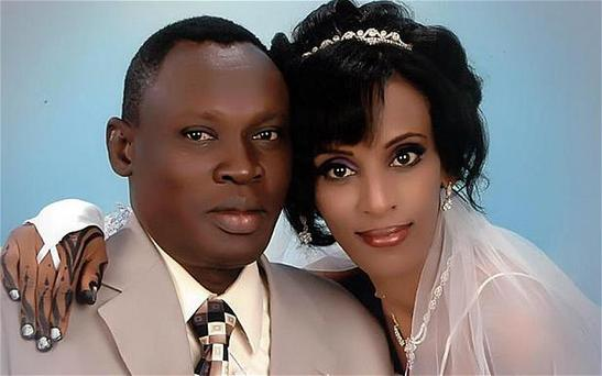 Meriam Ibrahim, who has been sentenced to death in Sudan, and her husband Daniel Wani