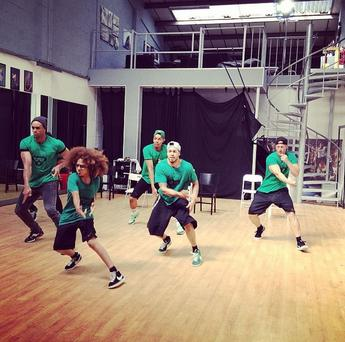 Diversity in rehearsals (Photo: Instagram)