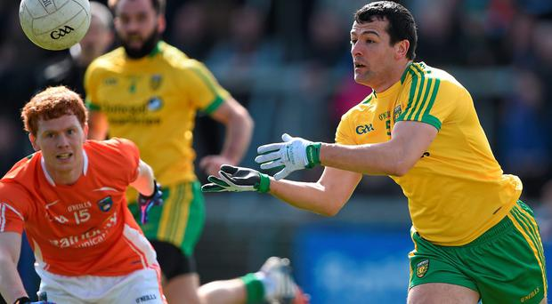 Frank McGlynn was in impressive form as Donegal progressed in Ulster