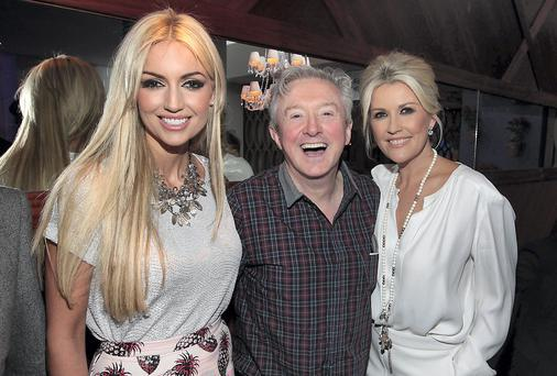 Rosanna Davison,Louis Walsh and Lisa Fitzpatrick