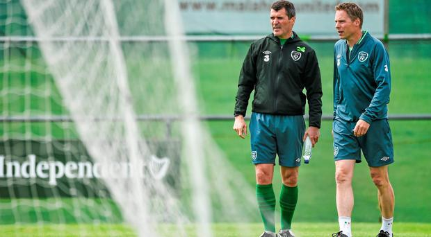 Martin O'Neill admits it could be difficult to keep assistant manager Roy Keane and coach Steve Guppy in the Republic of Ireland set-up, such is the interest from elsewhere in obtaining their services. Photo: David Maher / SPORTSFILE