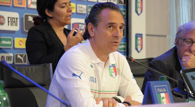 Italy coach Cesare Prandelli has put pen to paper on a new two-year deal. Photo: Dino Panato/Getty Images