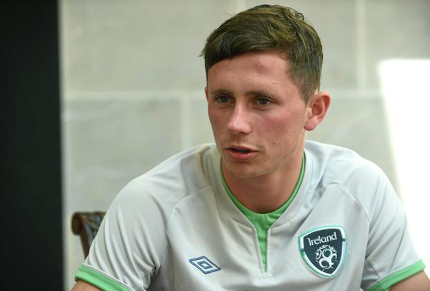 Alan Browne says he feels in good shape after his move to Preston, where he has exceeded early expectations of him. Photo: Pat Murphy / SPORTSFILE