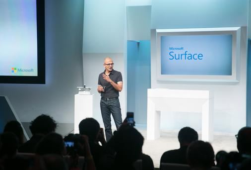 Surface Pro 3 launch in New York City on May 20 last.