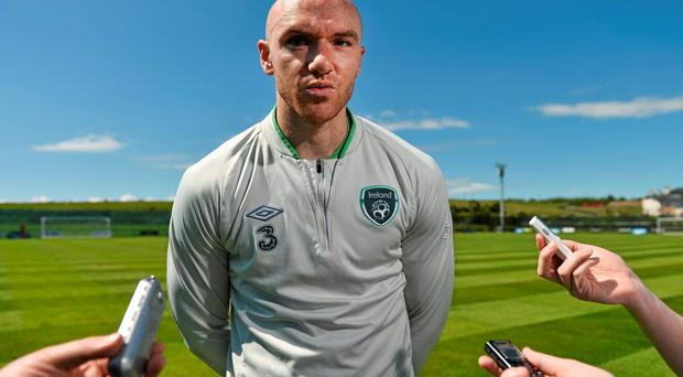 Former Ireland striker Conor Sammon