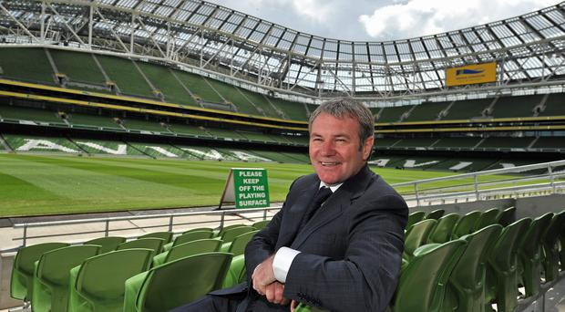 Ray Houghton has fond memories of the World Cup 1994 game against Italy. Photo: Brian Lawless / SPORTSFILE