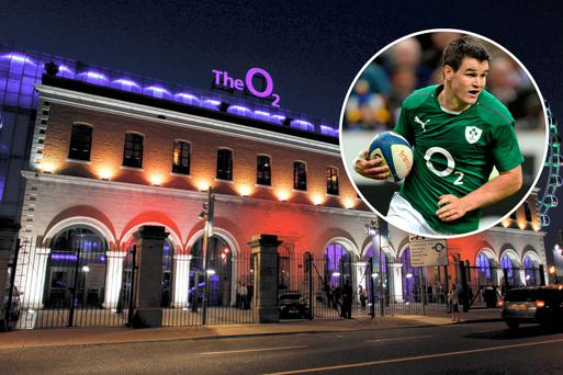 Under the deal Dublin's 02 arena will be renamed again and sports sponsorship for the Ireland rugby team will be rebranded