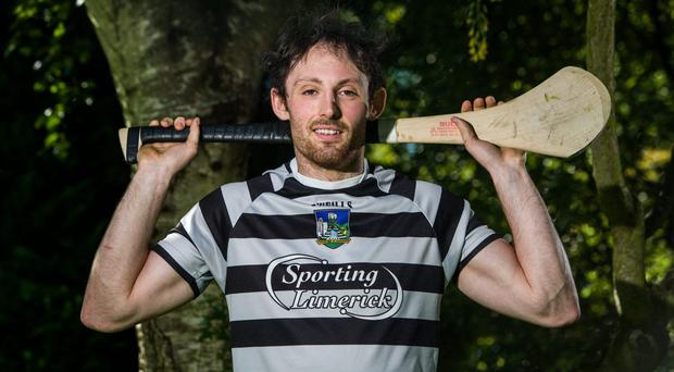 Limerick's Paudie O'Brien during a senior hurling press event ahead of their Munster GAA Hurling Senior Championship Semi-Final game against Tipperary. Picture credit: Diarmuid Greene / SPORTSFILE