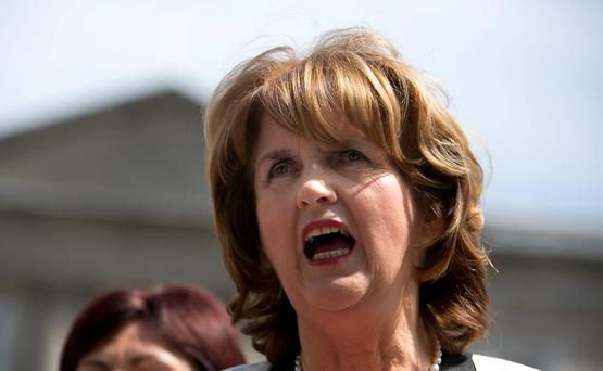 Deputy Leader of the Labour Party, Minister for Social Protection Joan Burton