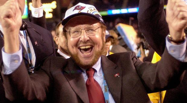 Manchester United owner Malcolm Glazer has died. He was 85. Photo: AP Photo/Dave Martin
