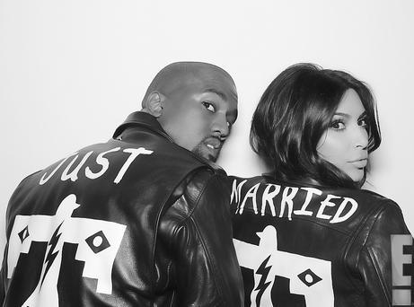Kimye shared select photos from their wedding