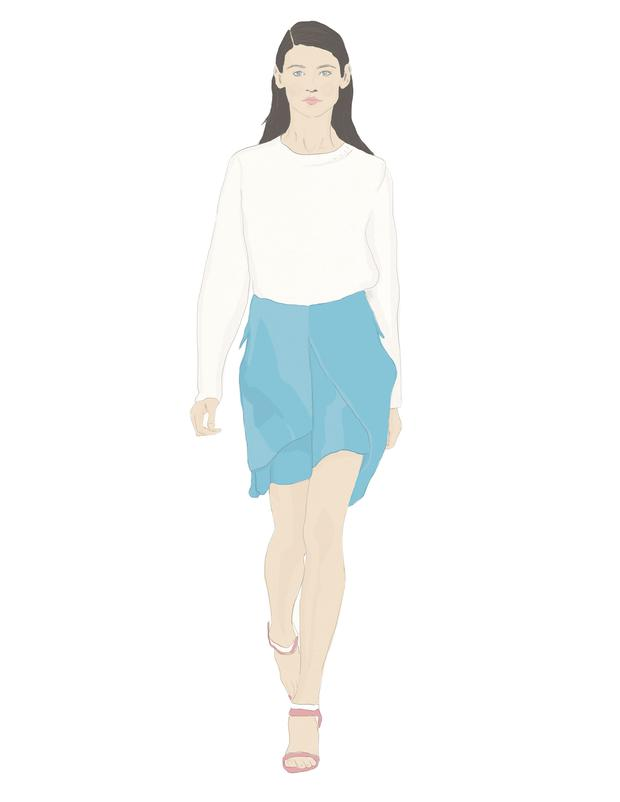 Illustration by Moona AlQahtani inspired by Preen
