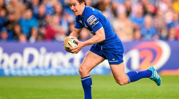 Leinster's Eoin Reddan in action against Ulster