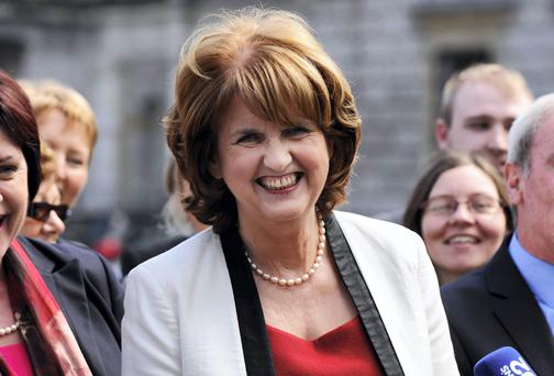 Joan Burton. Photo: Clodagh Kilcoyne