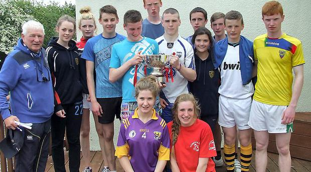 Over 300 pupils attended the annual Tag Rugby end of season blitz at Wexford Wanderers' Park Lane