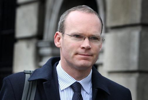 Agriculture minister Simon Coveney