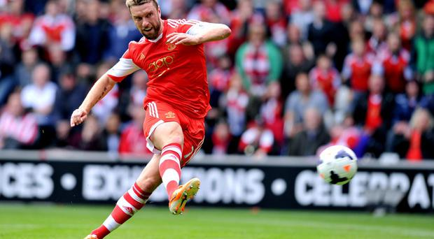Rickie Lambert will break off his World Cup preparations with England to complete his transfer to Liverpool. Photo: GLYN KIRK/AFP/Getty Images