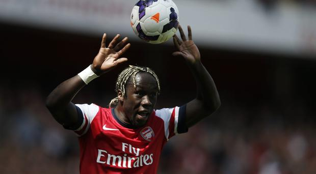 Bacary Sagna has not agreed a new contract with Arsenal and has been strongly linked with a move to Manchester City. Photo: ADRIAN DENNIS/AFP/Getty Images