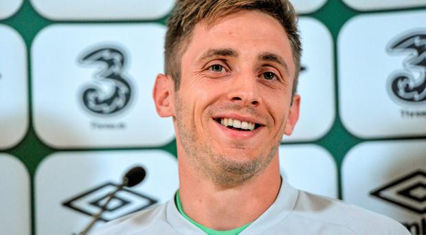 Ireland striker Kevin Doyle has been linked with a permanent move to QPR after his successful loan spell there this season. Photo: Ramsey Cardy / SPORTSFILE