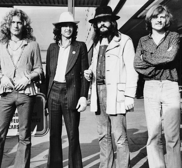 Iconic: Led Zeppelin.