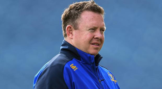 Matt O'Connor will be keen for his first season in charge of Leinster to end with some silverware