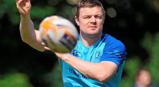 Forever blue - Brian O'Driscoll has been inextricably linked to Leinster all his career. Photo: Ashleigh Fox / SPORTSFILE