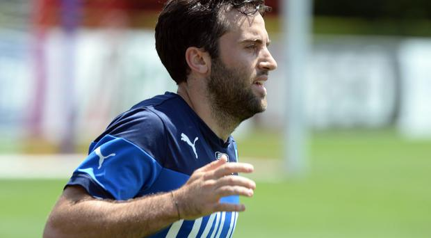 Giuseppe Rossi will feature in Italy's frontline tonight against Ireland. Photo: Claudio Villa/Getty Images