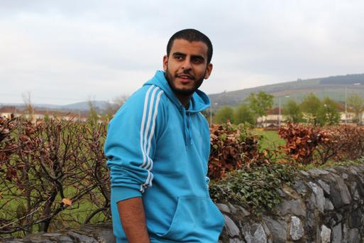 JAILED: Ibrahim Halawa (18) was arrested with his three sisters after being caught up in protests in Cairo last August