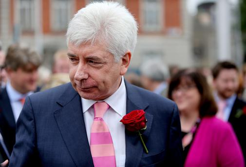 Alex White announced this week he was contesting the leadership contest of the Labour Party. Picture: GERRY MOONEY