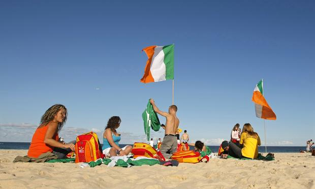Irish workers in Australia