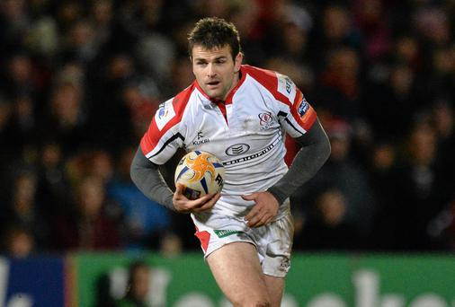 Ulster's Jared Payne will not be making the move south to Leinster, according to Matt O'Connor. Photo: Oliver McVeigh / SPORTSFILE