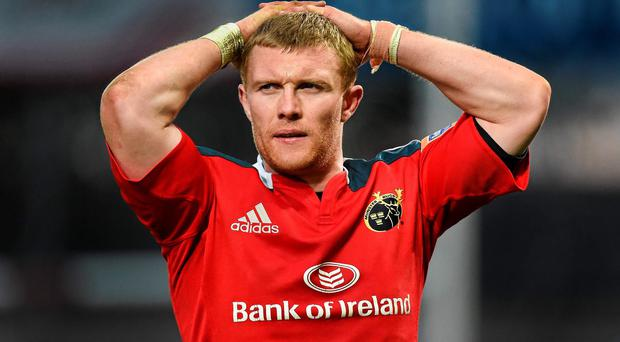 Keith Earls will go under the knife