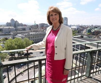 Social Protection Minister Joan Burton has tried to address the welfare traps that stop people from going back to work. Photo: Damien Eagers
