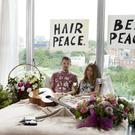Professor Green and his wife Millie MacIntosh recreate the iconic image of John Lennon and Yoko Ono's 1969 bed-in to launch the exclusive Come Together charity t-shirt for War Child, available at River Island stores now.