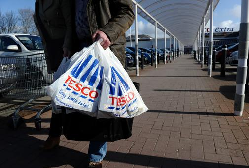 Tesco is struggling to overturn declining sales in the UK