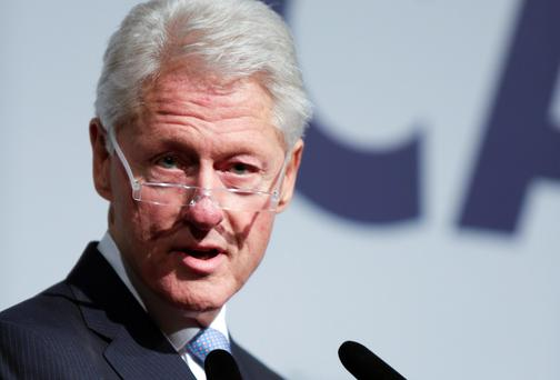Bill Clinton: ex-US president led America's World Cup bid. Reuters