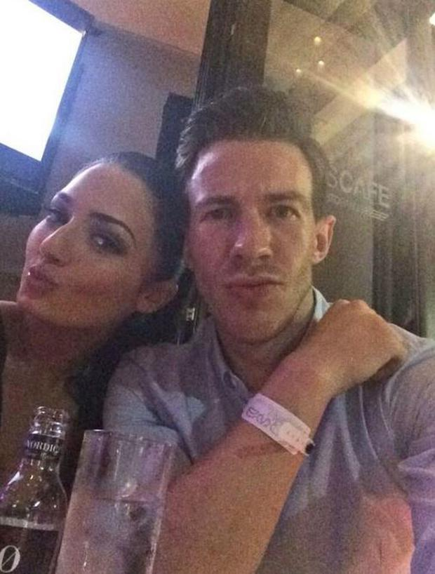 The international footballer (29), who was recently dropped by Leicester City, took to Twitter to share his disgust after Dublin model Faye Rooney ended their relationship. (Photo: Twitter/Faye Rooney)