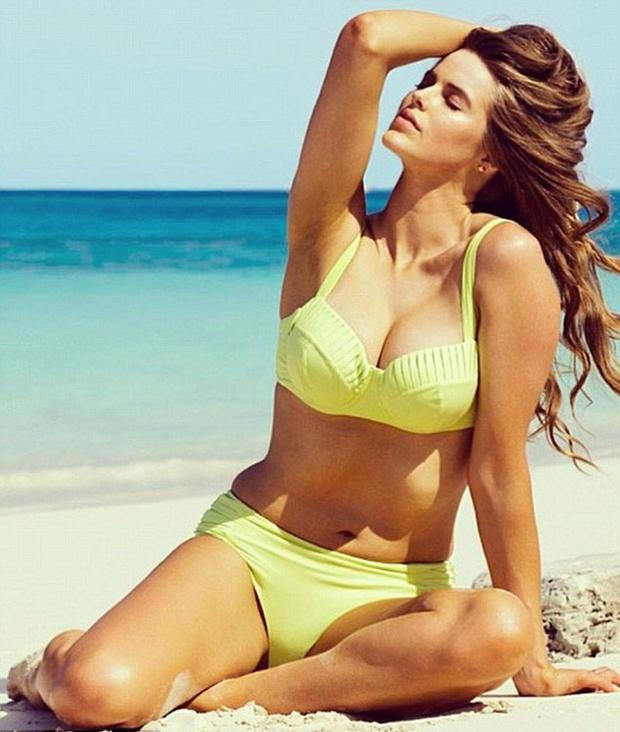 Robyn Lawley appeared in Sports Illustrated