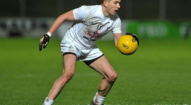 Eamonn Callaghan in action for Kildare
