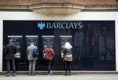 Barclays has seen the number of US shares traded decline for a second week
