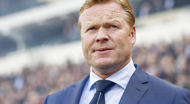 Southampton have held talks with Ronald Koeman about becoming their new manager
