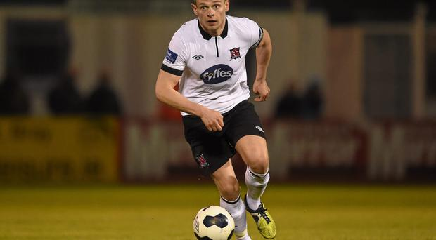 Dundalk defender Andy Boyle was shown two yellow cards against UCD without being sent off