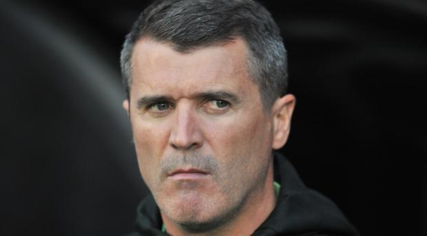 Republic of Ireland's assistant manager Roy Keane. (Photo credit GLYN KIRK/AFP/Getty Images)