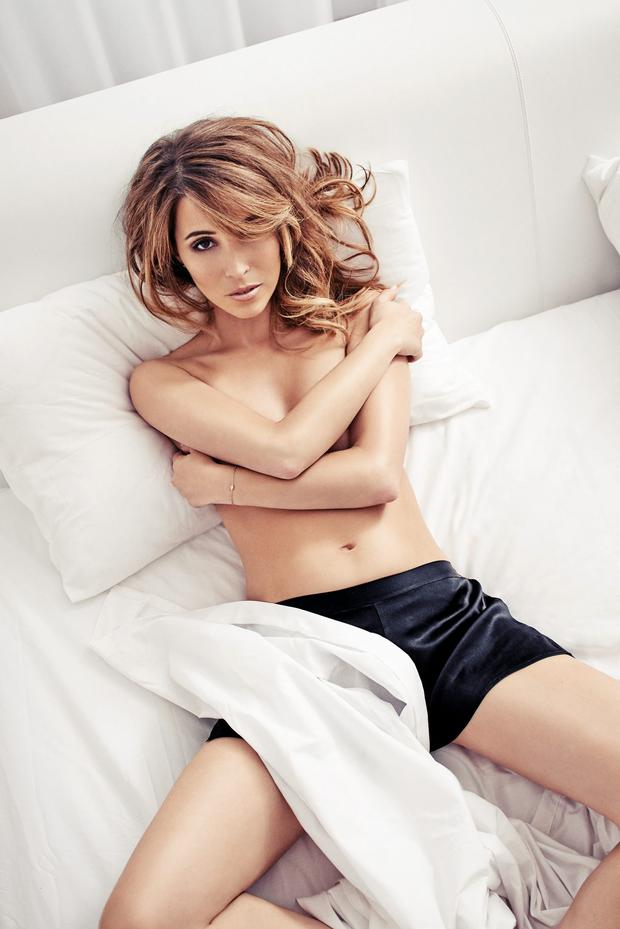 Rachel Stevens as she appears in their latest edition where she was named FHM's Sexiest Woman of All Time
