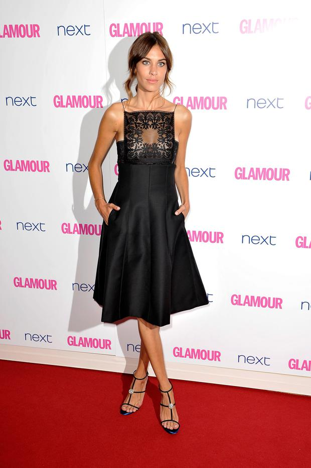 Model Alexa Chung attends the Glamour Women of the Year Awards