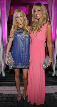 Claudine Keane and Rosanna Davison in 2008