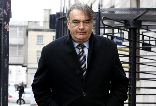 Ian Bailey leaving the High Court in Dublin yesterday