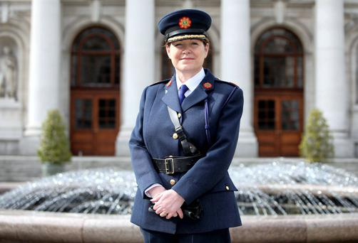Acting garda chief Noirin O'Sullivan. Photo: Collins