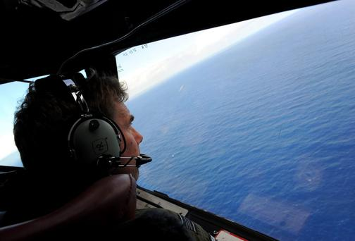 Australian airman during the search for missing Malaysia Airlines Flight MH370
