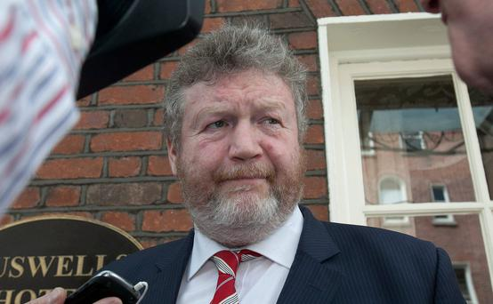 28/05/2014 Minister for Health James Reilly Td at Buswells Hotel, Dublin. Photo: Gareth Chaney Collins